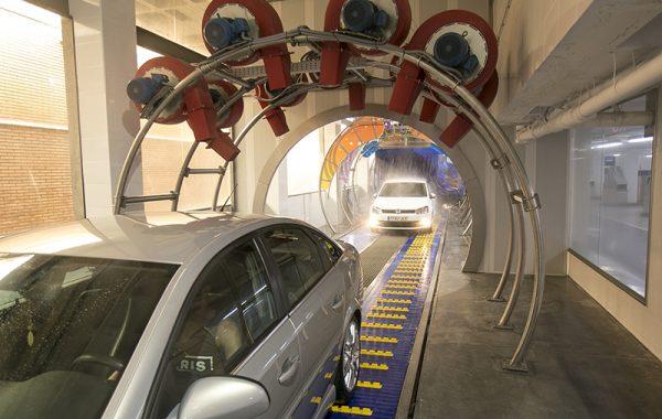 Tunel 30 metros.